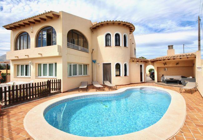Villa/Dettached house in Altea - VILLA MAR Y AZUL ALTEA